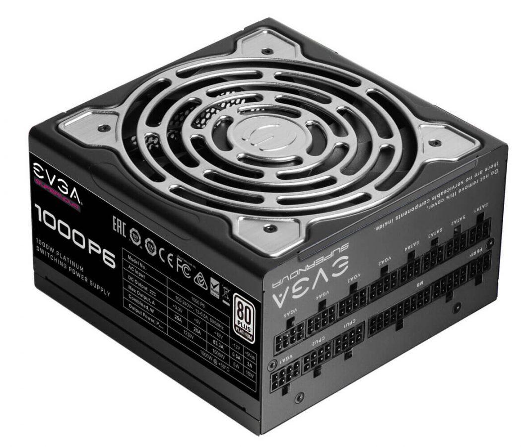 EVGA SuperNOVA P6, nueva fuente de alimentación