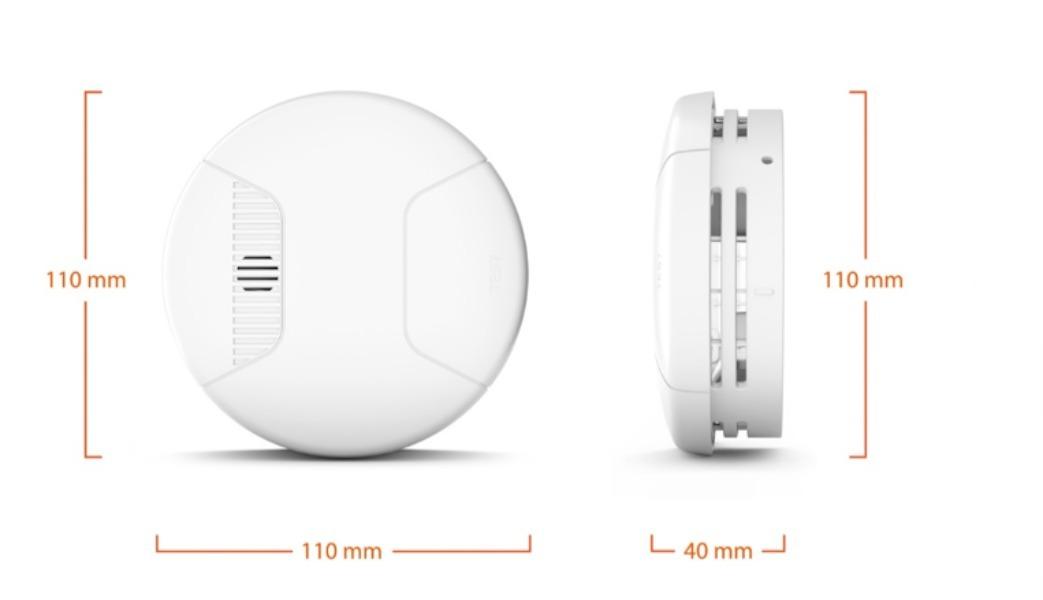 Detector de humo inteligente para el hogar ➡️ Gigaset Smoke Sensor