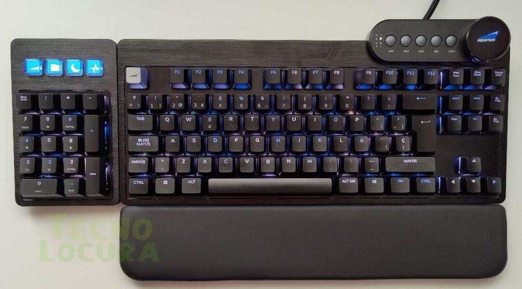 El mejor teclado para jugar y stremear - Mountain Everest Max unboxing