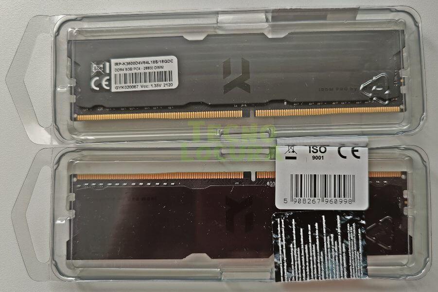 Memoria RAM elegante para montajes black / Goodram IRDM Pro Deep Black review