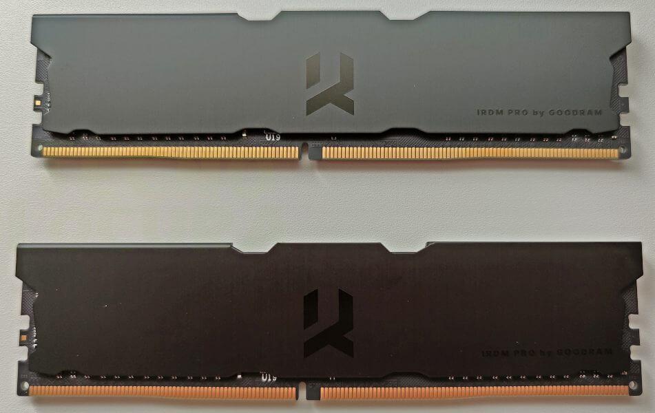 Memoria RAM elegante para montajes black - Goodram IRDM Pro Deep Black review