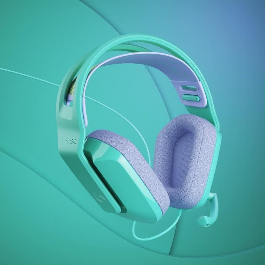 Auriculares gaming económicos - Logitech G335 más pequeños y ligero