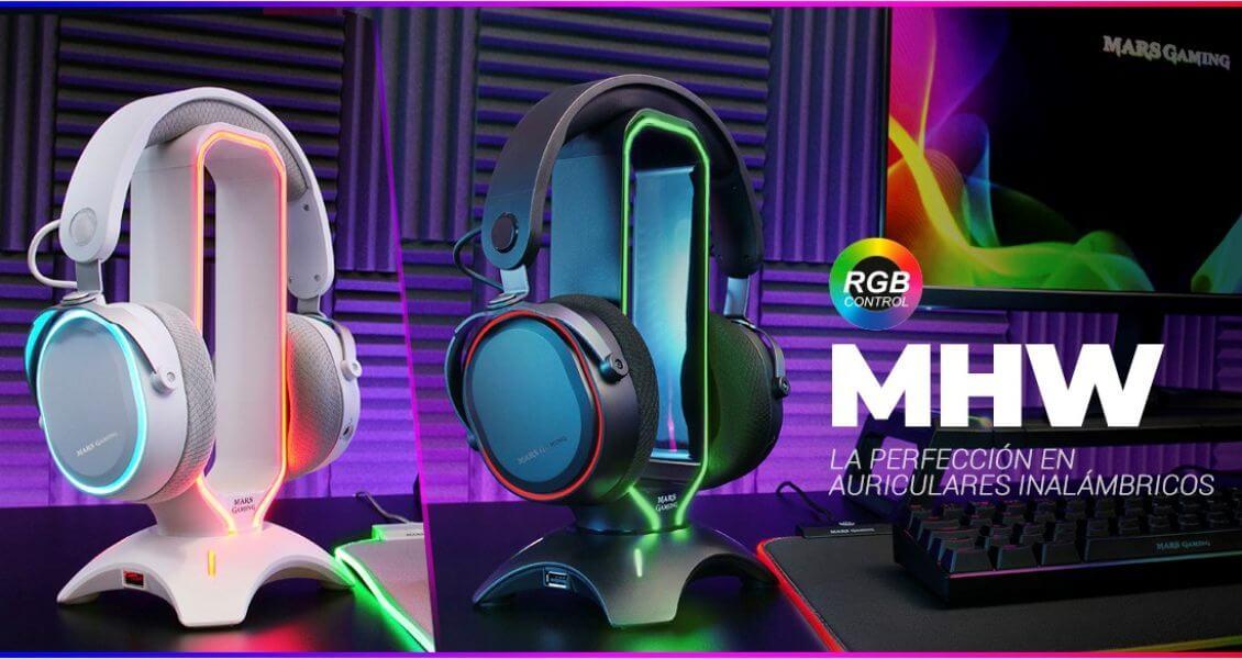 Mars-Gaming-MHW Los auriculares inalámbricos más económicosde julio