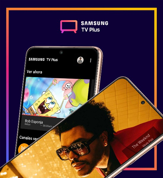 TV plus y Samsung Free