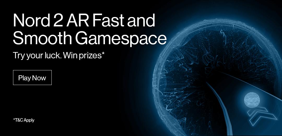AR Fast and Smooth. Únete al reto en VR y llévate un OnePlus Nord 2