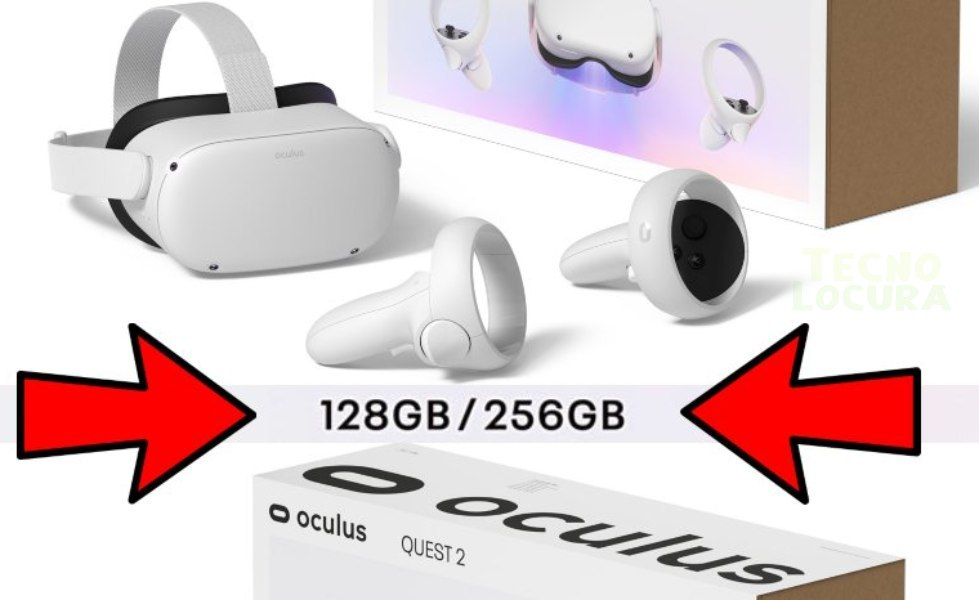 Oculus Quest 2 de 128 GB de ROM puede ser una realidad muy pronto