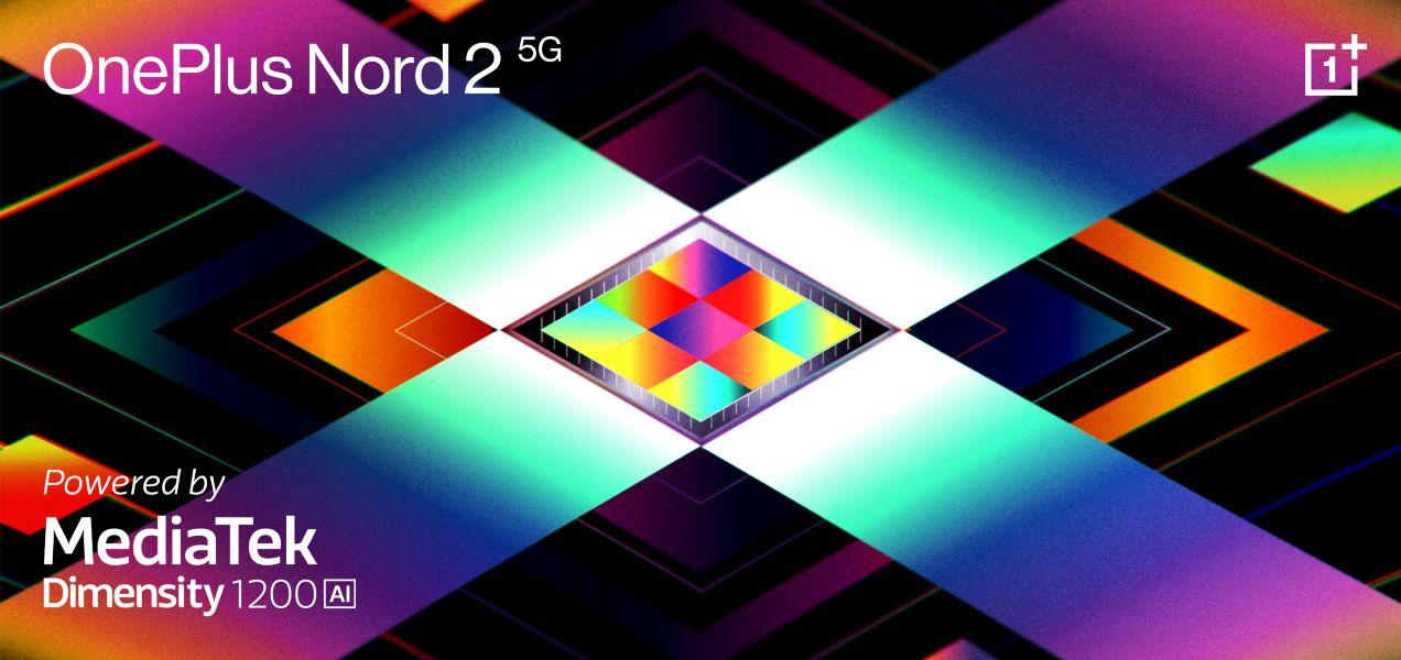 OnePlus Nord 2 5G con Dimensity 1200-IA