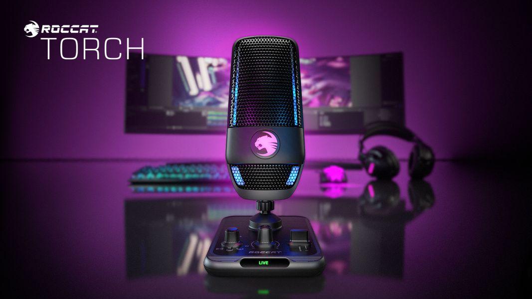 ROCCAT TORCH, micro USB con Calidad Estudio y compatible con AIMO