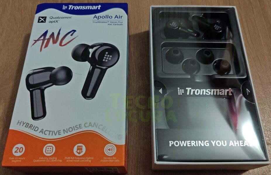 Tronsmart Apollo Air REVIEW - Auriculares TWS potentes y con ANC