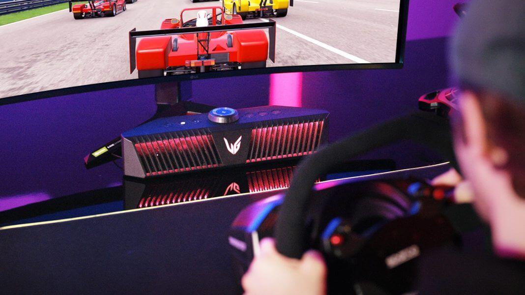 Inmersión gaming a un nivel superior LG GP9 UltraGear