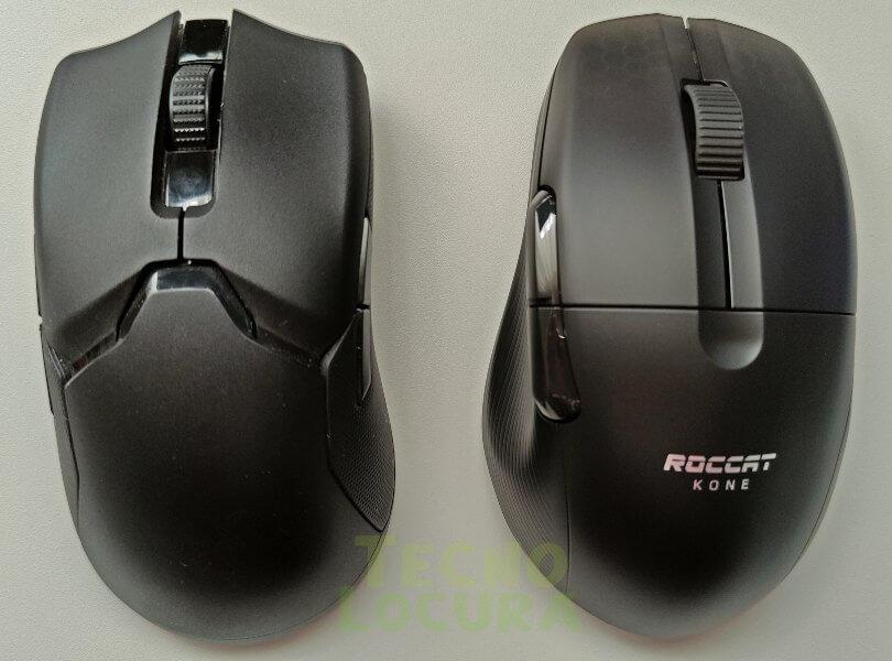 Razer Viper Ultimate vs Roccat Kone Pro Air