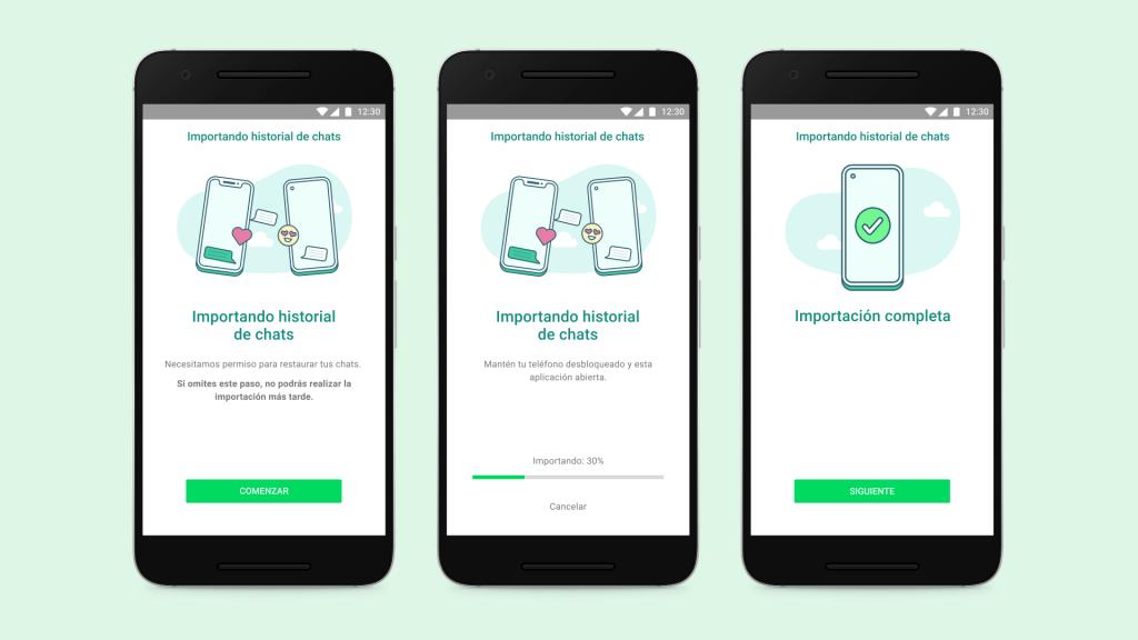 Cómo pasar los chats de WhatsApp de iOS a un teléfono Galaxy