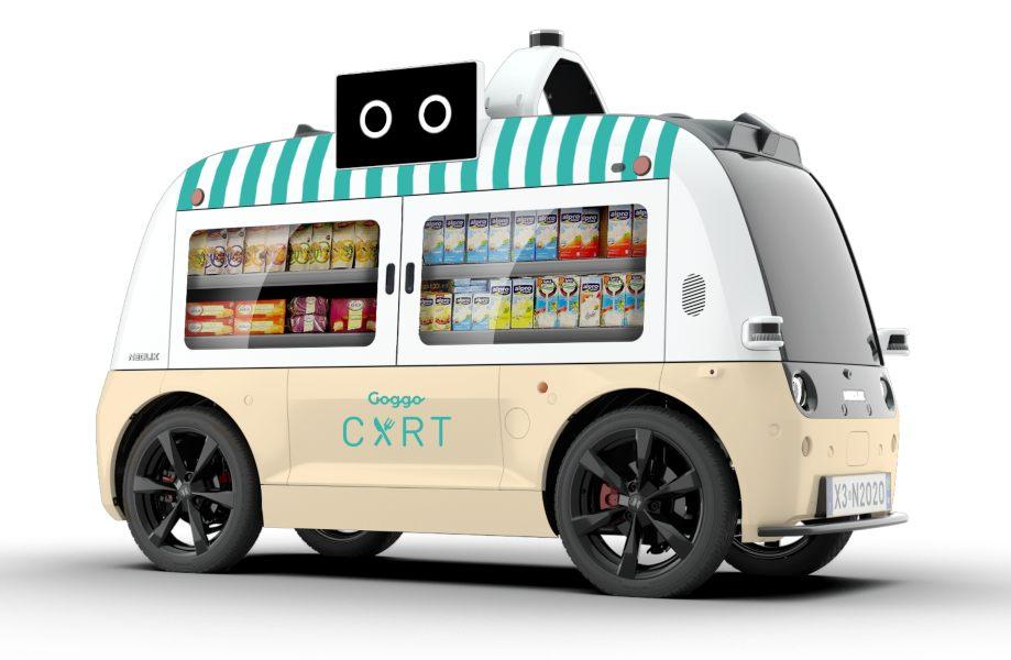 Food Trucks autónomos, la conducción autónoma llega al delivery con Goggo Cart