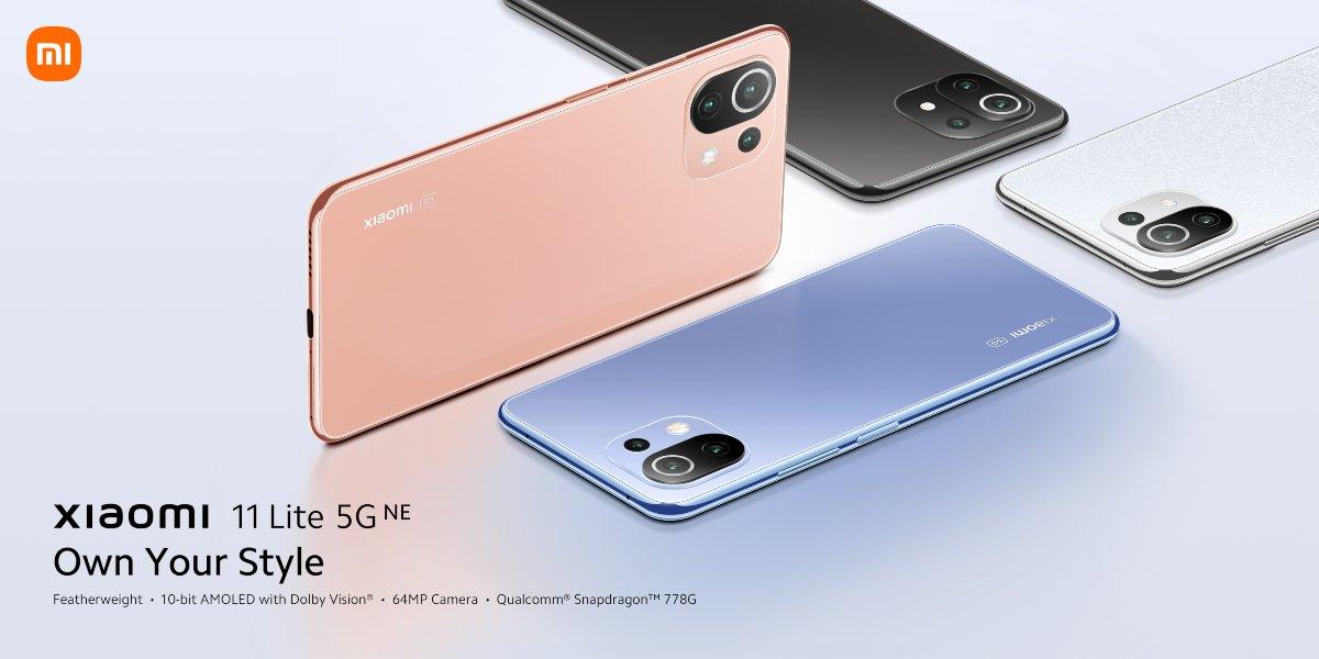 Xiaomi 11T, Xiaomi 11T Pro y 11 Lite 5G New Edition son oficiales