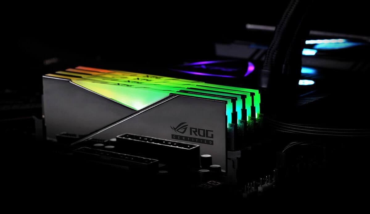 SPECTRIX D50 ROG-CERTIFIED DDR4 RGB