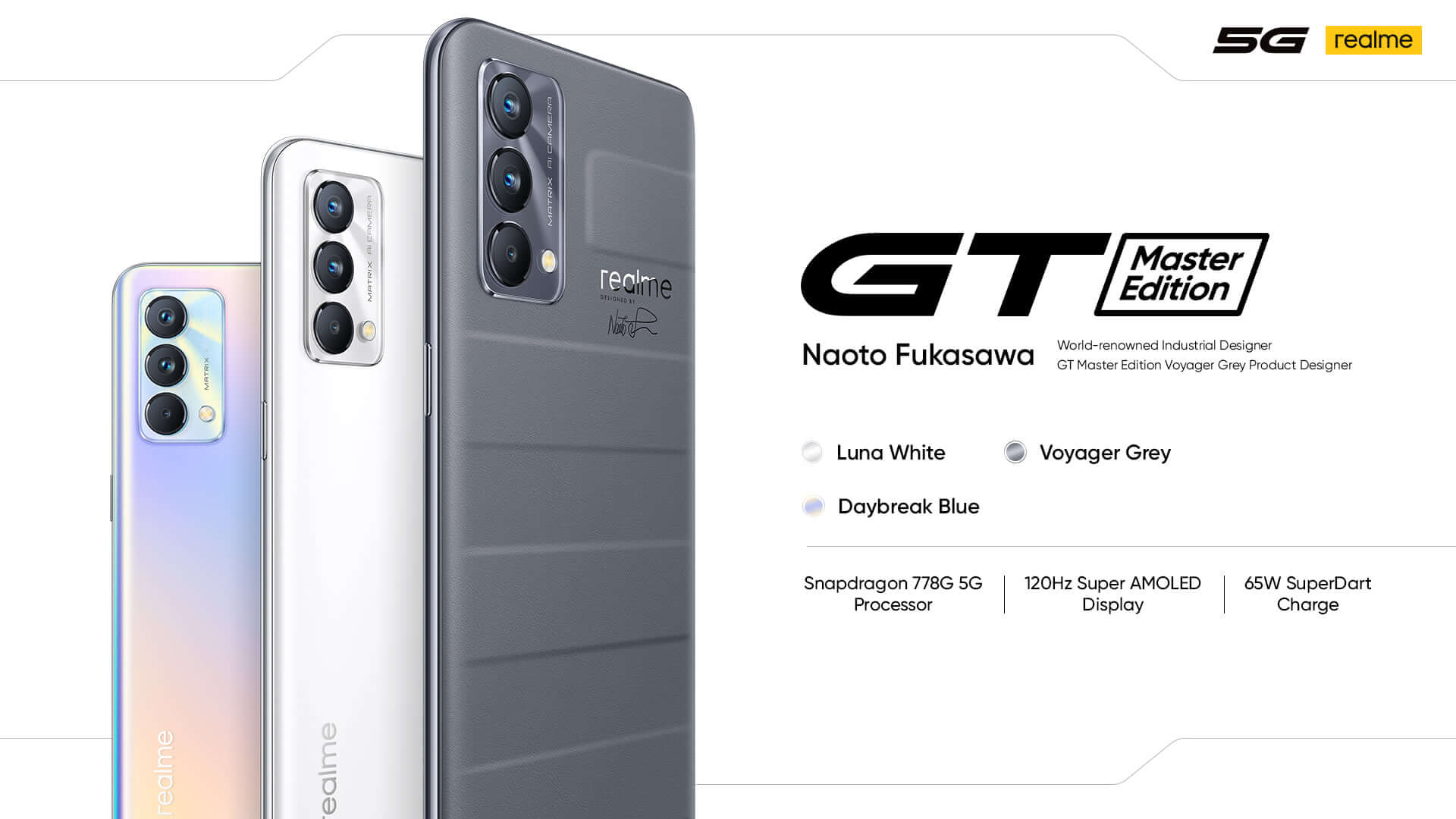 realme GT Master Edition disponible