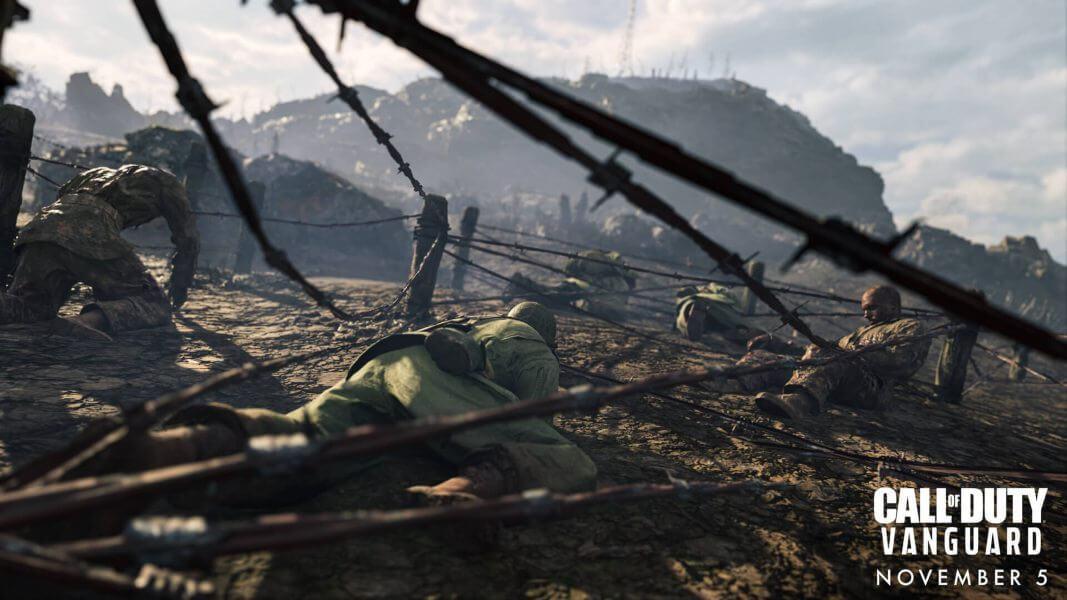 Activision presenta la campaña de Call of Duty Vanguard