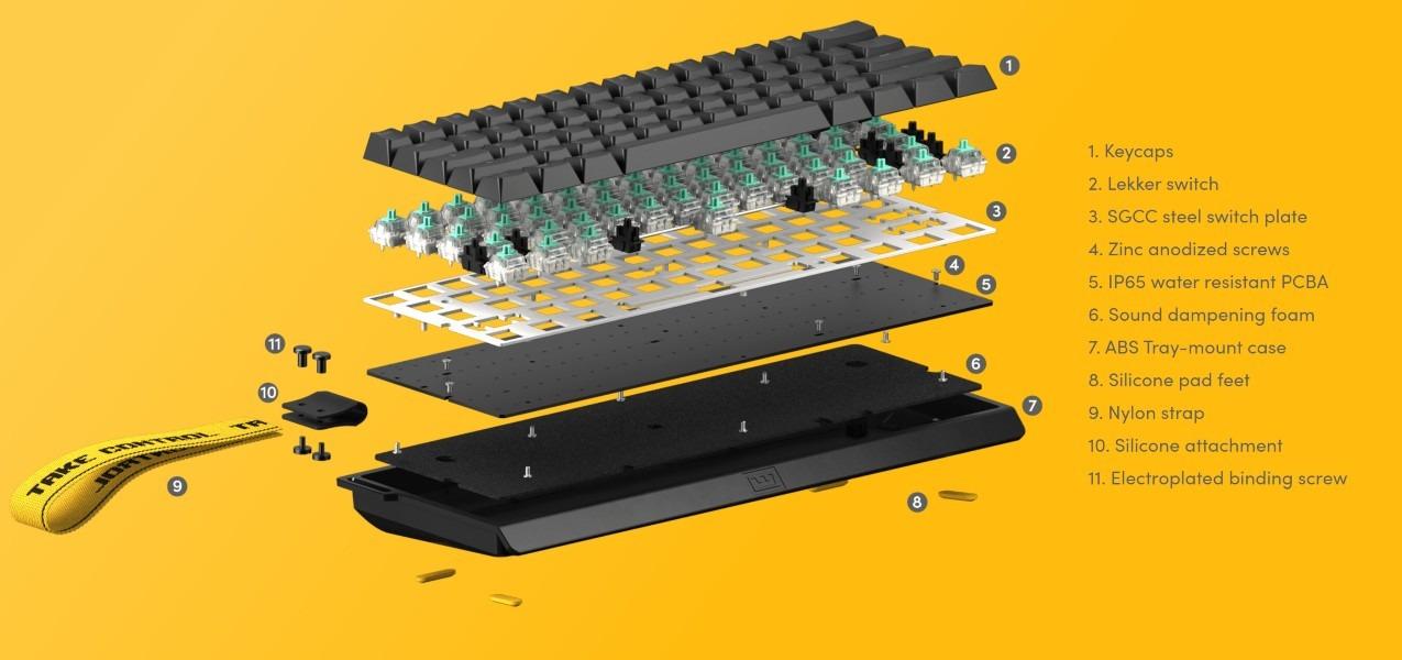 Wooting 60HE, el teclado analógico 60% definitivo